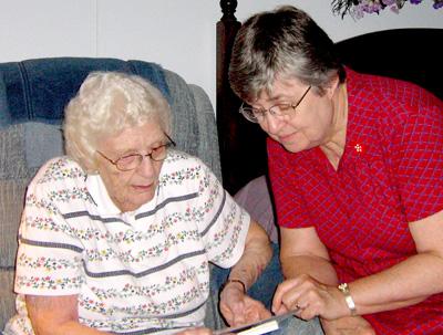 Nancy Woolnough older lr