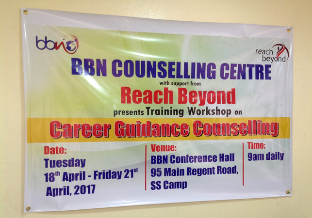 Training In Sierra Leone Focuses On Career Counseling And Young People Reach Beyond