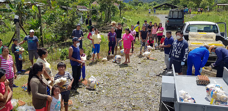 The economic impact of COVID-19 in Ecuador has been devastating, but Reach Beyond missionaries have come alongside the local Church to provide food and support.