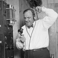 Paul Rader - First Religious Broadcaster / Radio Station WJBT
