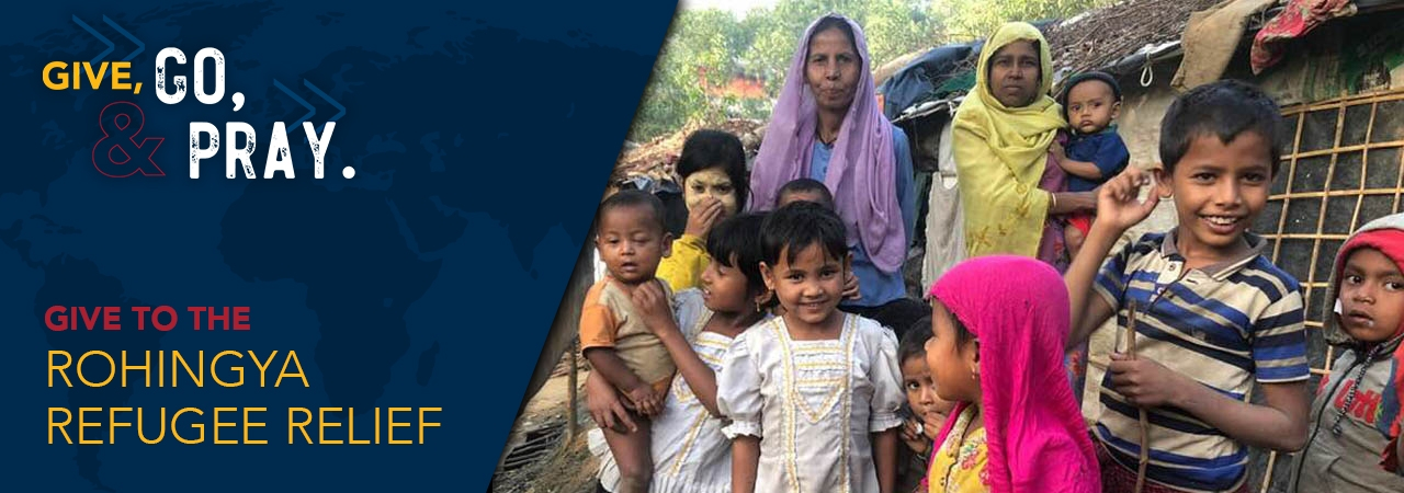 Click to give to Rohingya Refugee Relief